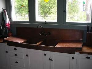 custom copper sink kitchen sink by iron john logan With custom kitchen sinks