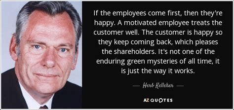 herb kelleher quote   employees