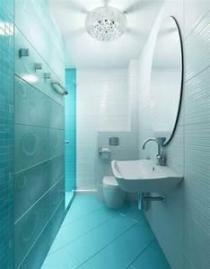 Carrelages Salle De Bain : carrelage salle de bain bleu id es d sob issant la ~ Melissatoandfro.com Idées de Décoration