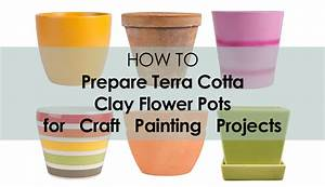 How to Prepare a Terra Cotta Clay Flower Pot for Painting
