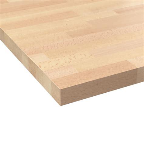 plan de travail cuisine bois massif plan de travail cuisine n 602 hêtre lamelle bois massif
