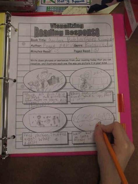reading response worksheets life   homeschool mom