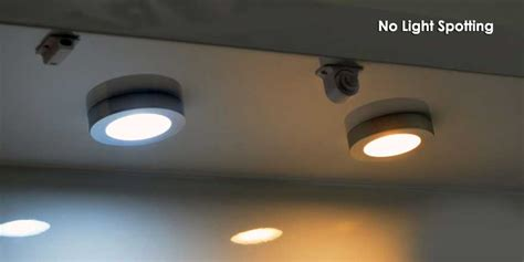 led puck light recessed surface mounted dimmable led