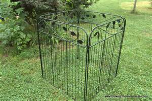 a simple and to assemble compost bin growing the home garden