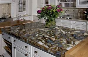 seifer countertop ideas transitional kitchen With kitchen colors with white cabinets with geode agate wall art