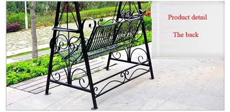 Wrought Iron Garden Benches by Wrought Iron Metal Garden Swing Chairs Manufacture