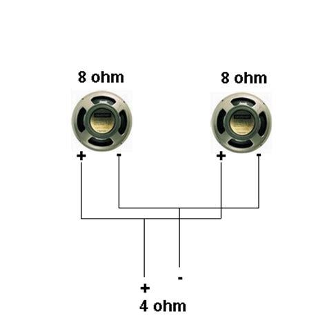parallel speaker wiring diagram
