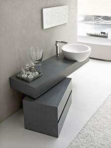 Moderne Waschbecken Bad : runde waschbecken im badezimmer die wirklich cool sind ~ Markanthonyermac.com Haus und Dekorationen