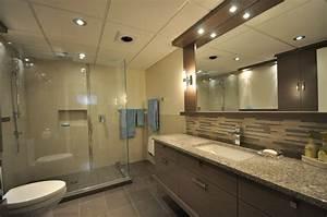 Sol Salle De Bain : une salle de bain au sous sol atelier avant garde ~ Dailycaller-alerts.com Idées de Décoration