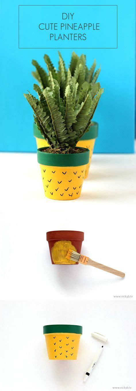 pflanzgefäße außen frostsicher diy ananas pflanzgef 228 223 e artesanato macetas plantas en maceta e macetas decoradas