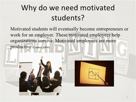 Motivation In Learning