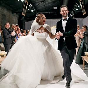serena williams and alexis ohanian39s wedding album brides With serena williams wedding dress