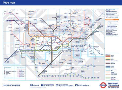 Carte Métro 2018 by Carte Metro Londres Carte 2018