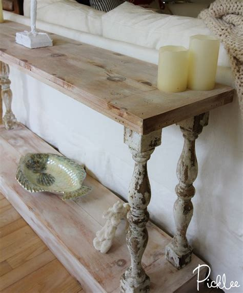 french country sofa table diy french country sofa table absolutely love this and
