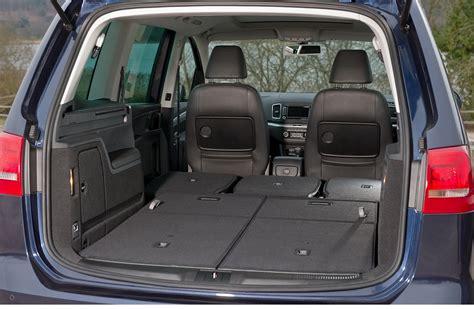 volkswagen sharan du coffre et du volume tout en confort