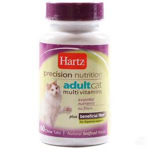 hartz cat vitamins 60 tablets