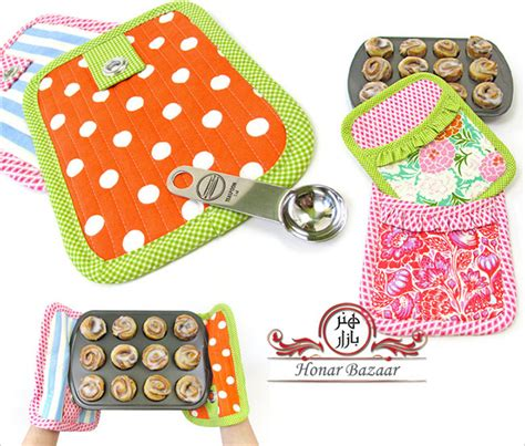 sewing kitchen accessories آموزش کامل ست آشپزخانه honarbazaar 2164