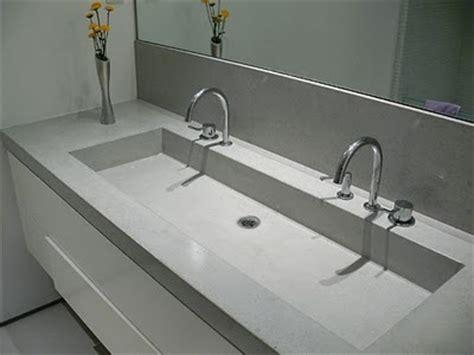 concrete bathroom sink diy trough sink cement and sinks on pinterest