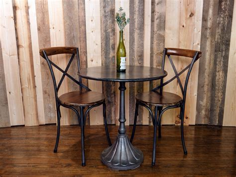Small indoor bistro table set woodworking diy project
