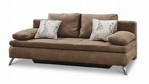 Schlafsofa Braun : schlafsofa jamaika sofa in cognac braun ~ Pilothousefishingboats.com Haus und Dekorationen