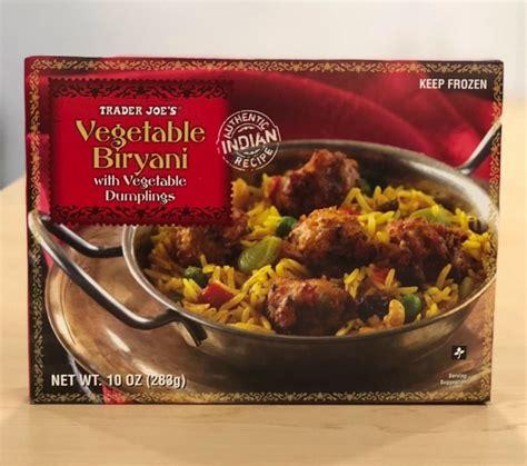 review trader joes vegetable biryani  vegetable