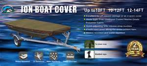 Boat Covers Maine by New 210d Olive Waterproof Jon Boat Cover Fit 12ft To14ft