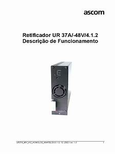 Manual Do Retificador 37a 48v