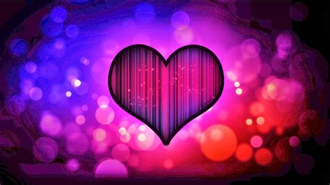 Love Heart Abstract Hd Wallpaper Image Photo Picture Hd