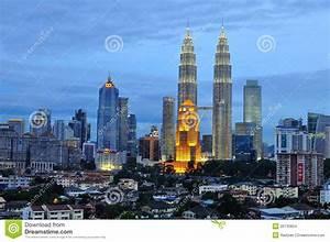 Kuala Lumpur Skyline, Malaysia Editorial Stock Image ...