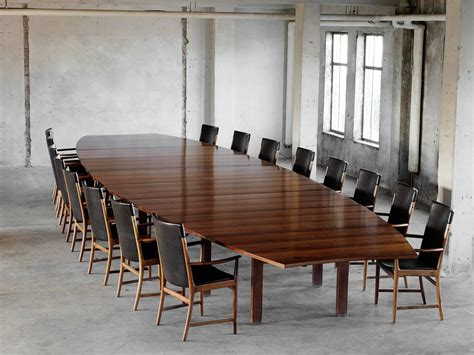 25ft 762cm Long Conference Table In Rosewood By Aj