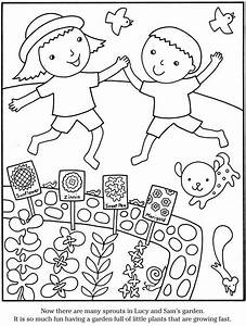Garden Coloring Page - AZ Coloring Pages