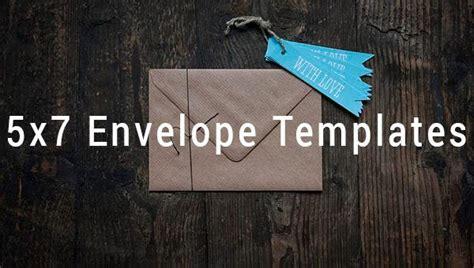 envelope templates   printable word psd