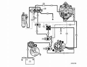 Mercruiser 4 3 Alternator Wiring Diagram
