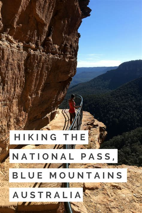 Hiking The National Pass Blue Mountains Australia Next