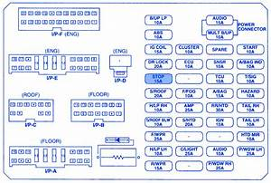 Kia Rio5 2007 Fuse Box  Block Circuit Breaker Diagram