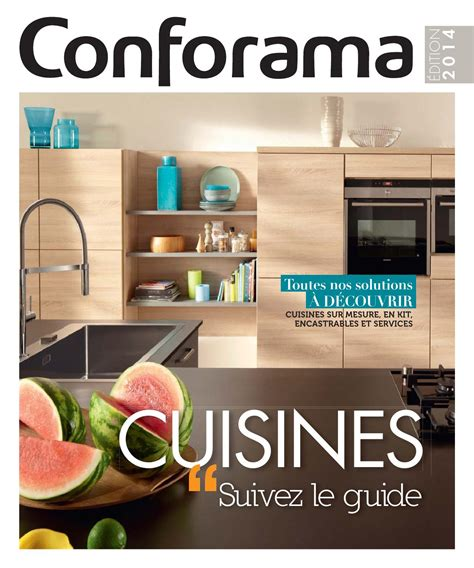 cuisine vial catalogue catalogue conforama guide cuisines 2014 by joe