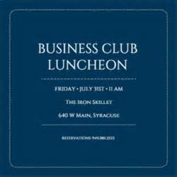 Business Event Invitation Templates Free