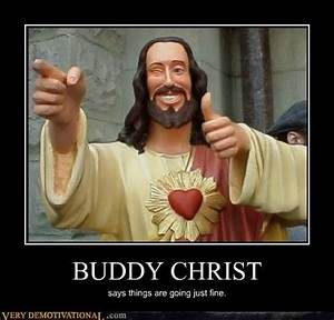 """Buddy Christ from Kevin Smith's """"Dogma"""" 