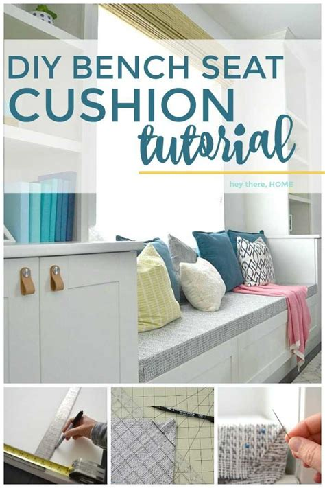Bench Cushions Diy by How To Make A Bench Seat Cushion With Box Corners