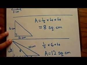 Find Area Of Triangle - Calculate Triangle Area