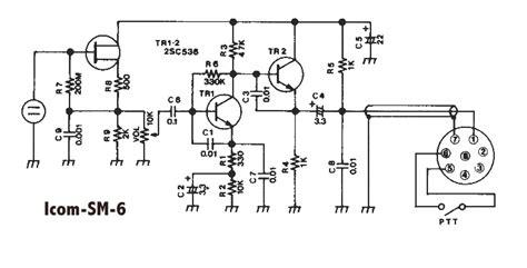 Icom Microphone Wiring Diagram Engine Images