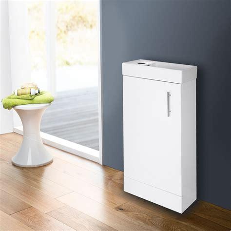 vanity unit basin sink white bathroom vanity unit ceramic basin sink oak ebony storage cabinet en suite ebay