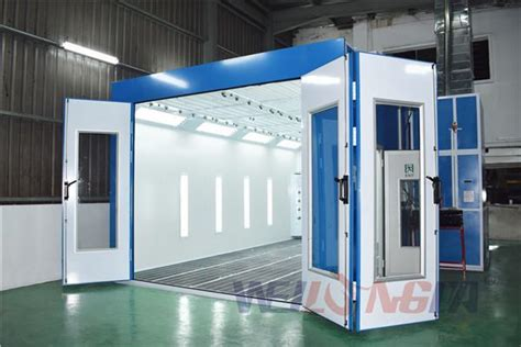 water based paint spray booth  sale manufacturers