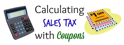 Calculating Sales Tax With Coupons  Atlantas Frugal Mom