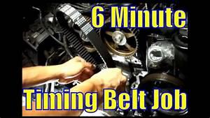 Six Minute Timing Belt Job  1993 Lexus Sc300  2jz