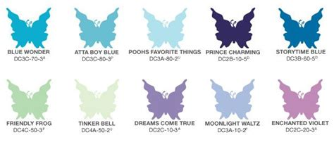 color palette for the room atta blue poohs fav things tinker bell moonlight waltz if i