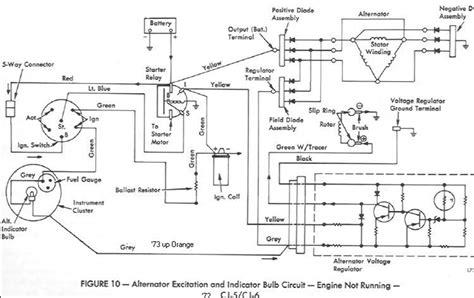 1982 Ford Alternator Wiring Diagram by Ford Alternator Wiring Diagram Regulator