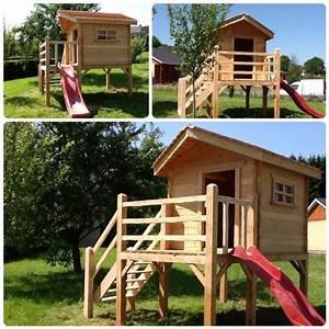Cabane Exterieur Enfant : cabane exterieur pour enfant cabanes abri jardin ~ Melissatoandfro.com Idées de Décoration