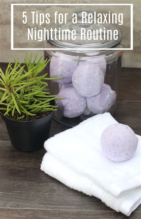 5 Tips For A Relaxing Nighttime Routine + A Diy Lavender