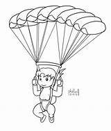 Skydiving Skydiver Skydive Drawing Coloring Pages Template Chibi Maya Sketch Getdrawings Deviantart sketch template